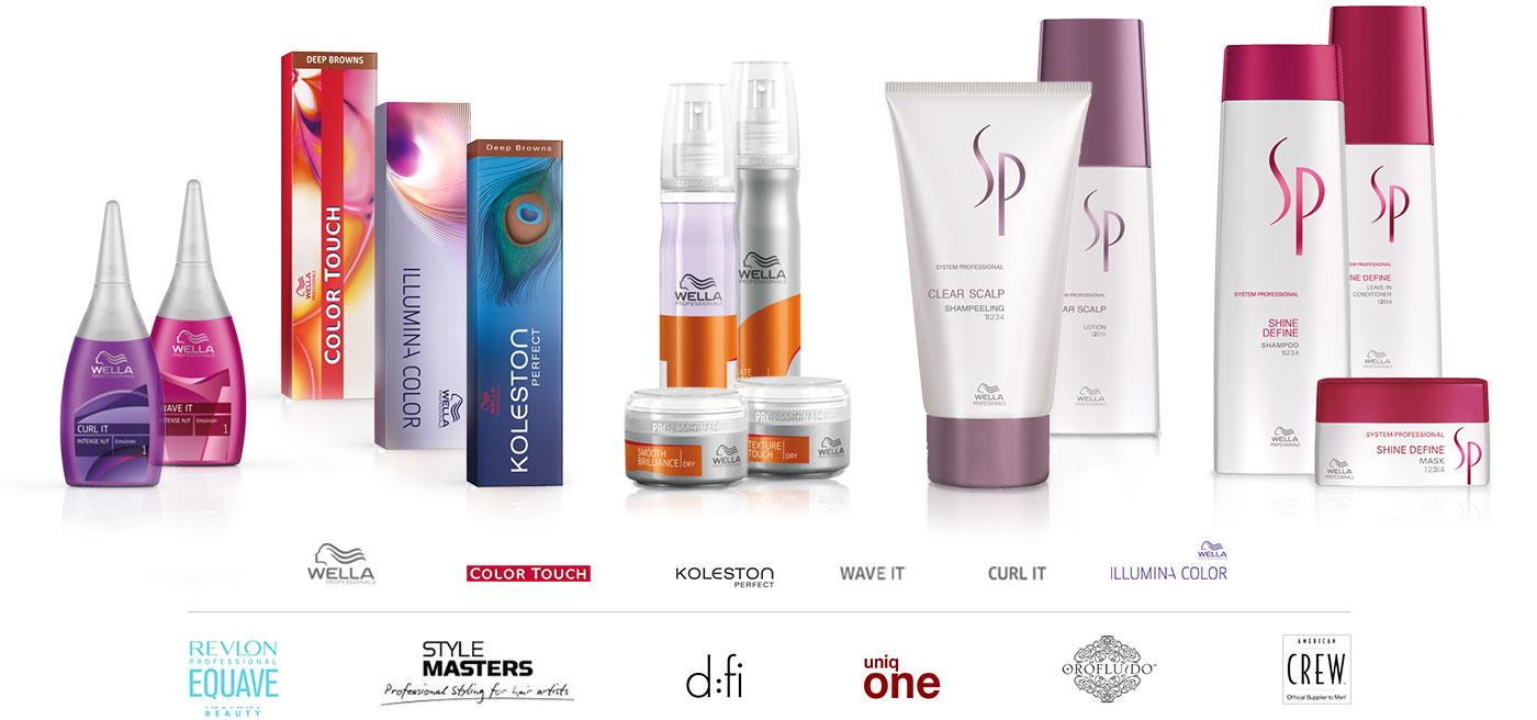 Produktserie von Style4life Friseurteam und Logos der Produktserien bei Style4life Friseurteam